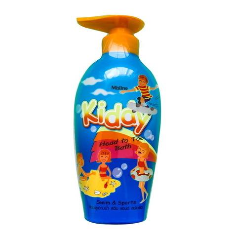 Шампунь-гель для душа для детей Kiddy плавание и спорт Mistine 400 мл / Mistine Kiddy Swim and Sports 400 ml