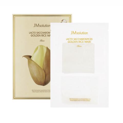 JMsolution Lacto Saccharomyces Golden Rice Mask Маска для выравнивания тона с лактобактериями