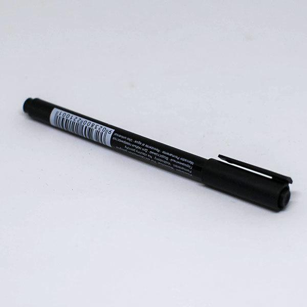 Перманентный маркер черный
