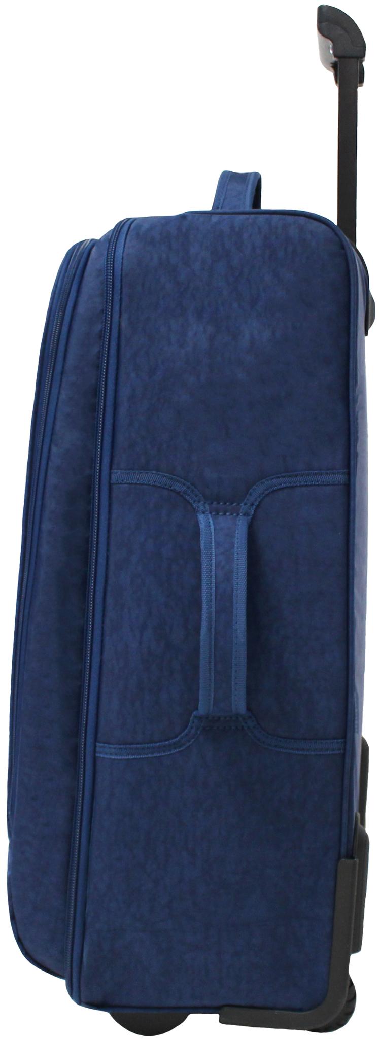 Сумка дорожная Bagland Рим 62 л. 225 синій/олені (0039370)