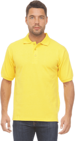 Рубашка ПОЛО желтая