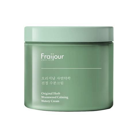 Fraijour Крем для лица c комплексом травяных экстрактов Original Herb Wormwood Calming Watery Cream, 100 мл