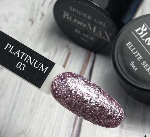 Гель краска Platinum series №3, 5 мл
