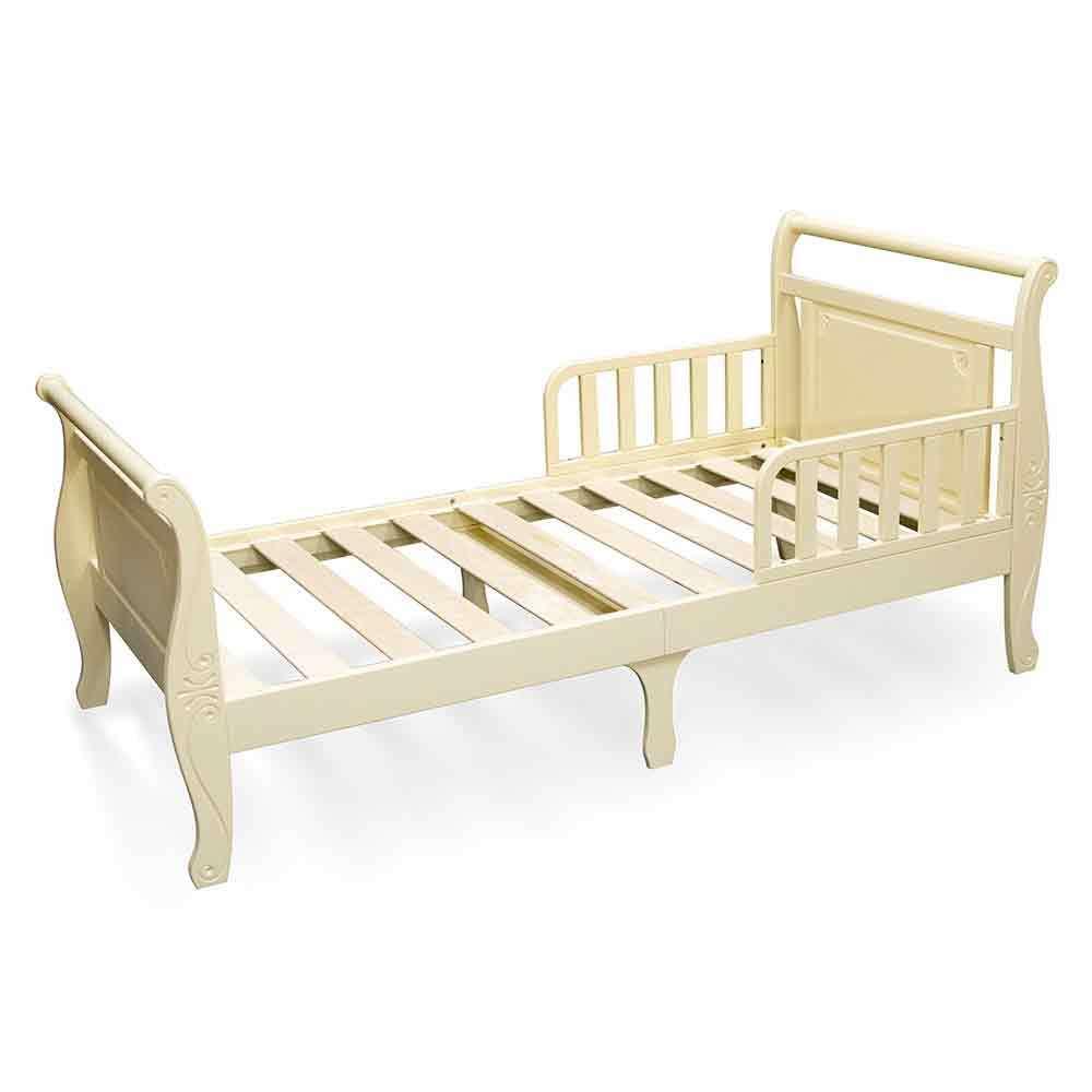 Кровать подростковая Феалта-baby Нева, слоновая кость