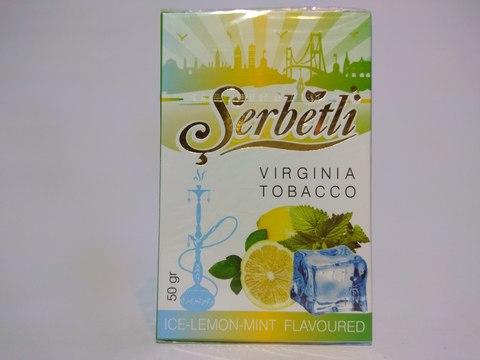 Табак для кальяна SERBETLI Ice Lemon Mint 50gr