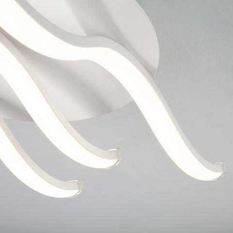 Светодиодный потолочный светильник 90090/3 белый