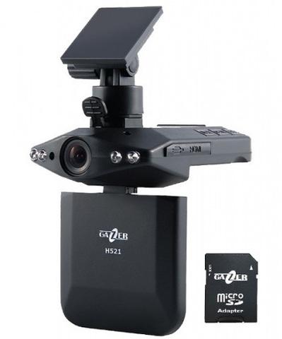 Автомобильный видеорегистратор Gazer H521