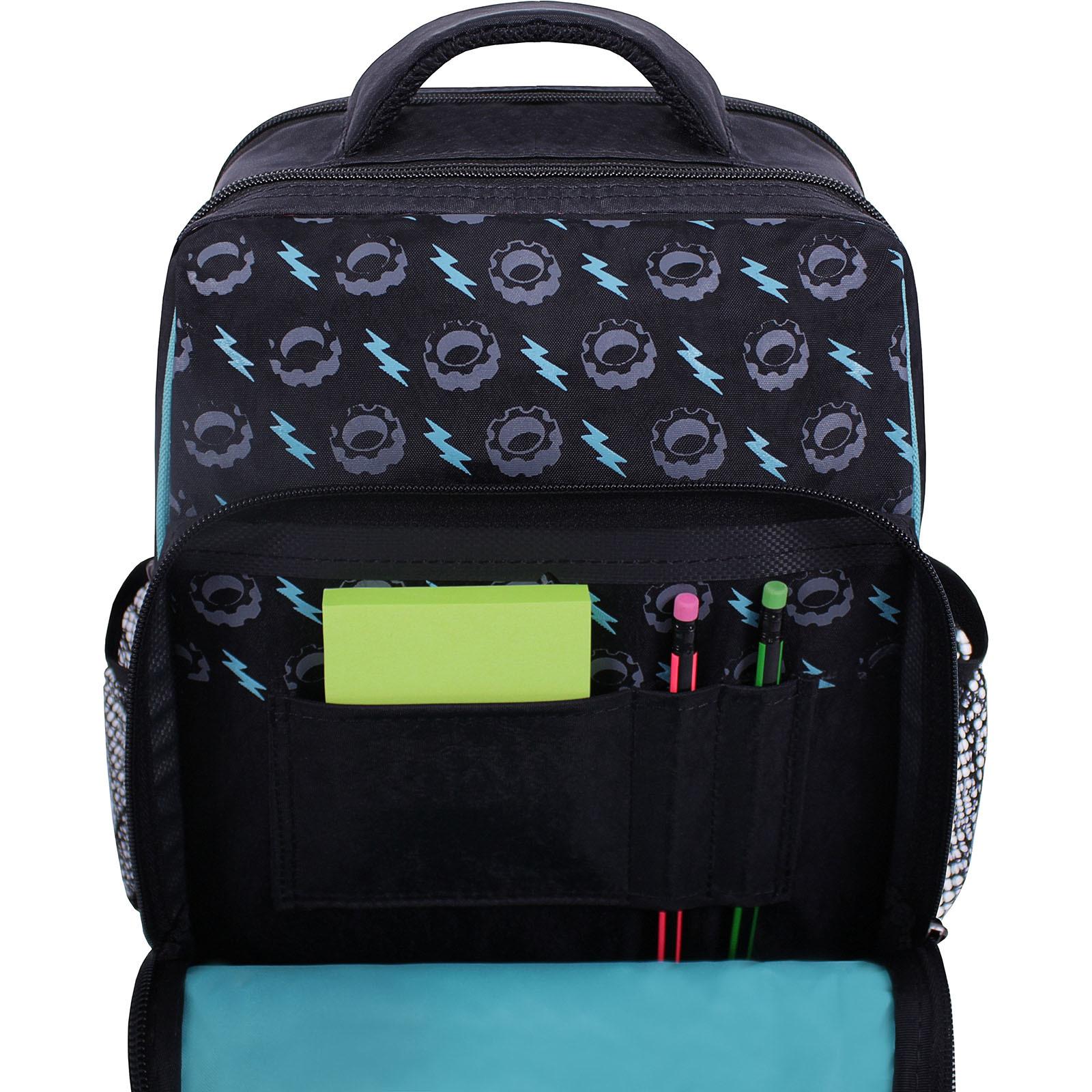 Рюкзак школьный Bagland Школьник 8 л. Черный 419 (0012870) фото 4