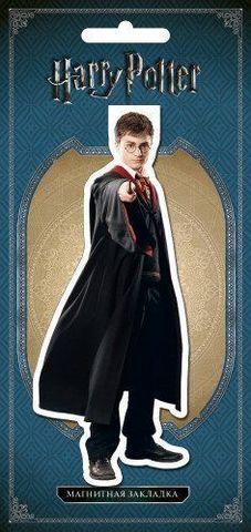 Фигурная магнитная закладка. Гарри Поттер
