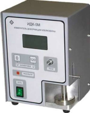 Цифровой измеритель деформации клейковины ИДК-5М
