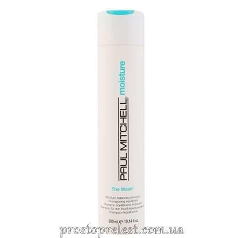 Paul Mitchell Moisture - Очищающий шампунь со сбалансированным увлажняющим действием