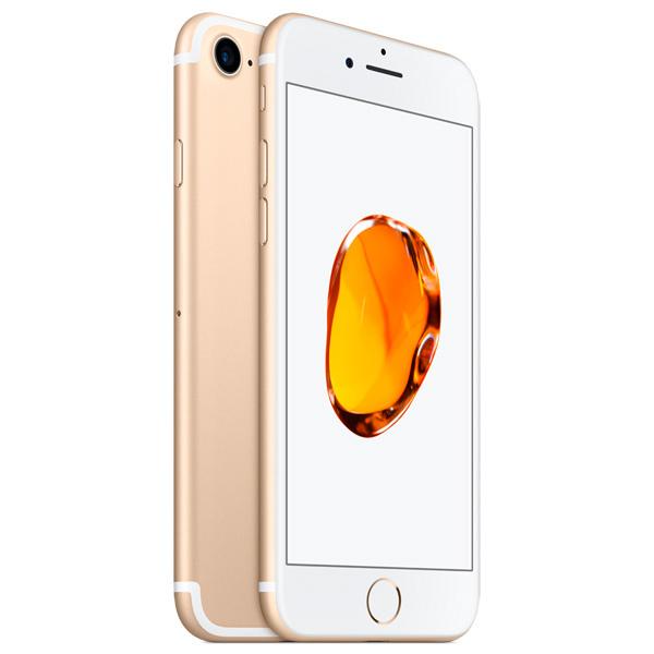 iPhone 7, 128 ГБ, золотой