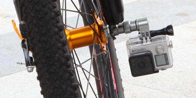 Крепление на колесо велосипеда Selans