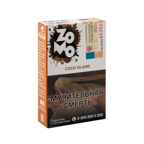 Табак ZOMO Coco Island (Кокос) 50 г