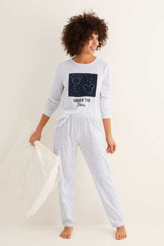 Довга піжама зі штанами капрі Under the Stars