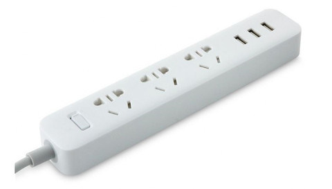 Удлинитель Xiaomi Mi Power Strip 3 Sockets White