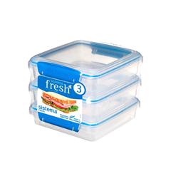 Набор контейнеров для сэндвичей Sistema