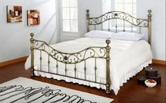 Кровать Шарлотта 200x140 (Charlotte) Античная медь