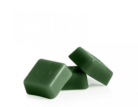 Горячий воск для депиляции в брикетах - Зеленый 1 кг.