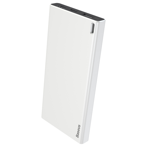 Аккумулятор Baseus Choc Powerbank 10000 mAh White+Black