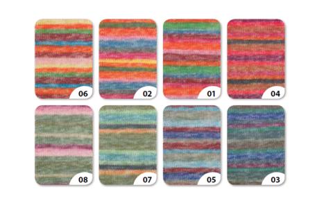 Немецкая пряжа для вязания носков Gruendl Ledro