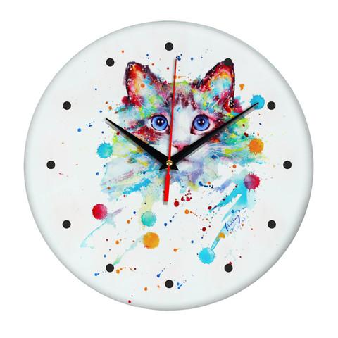 Сувенир и подарок часы cats0074
