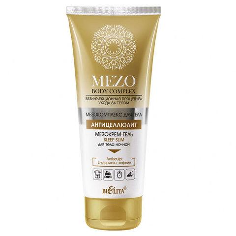Белита MEZOBodyComplex Мезокрем-гель Sleep Slim для тела ночной 200мл