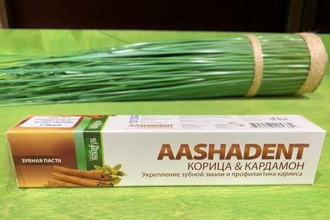 Зубная паста Корица/Кардамон AASHA HERBALS 100 мл