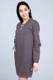 Свободное домашнее платье со шнуровкой Zimmerli