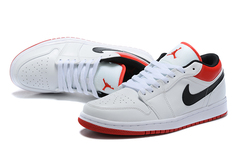 Air Jordan 1 Low 'White/Black/Red'