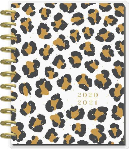 Ежедневник BIG - BIG Teacher Happy Planner® - Leopard Lessons  - Датирован  (август 2020-июль 2021) -  23х28.5см