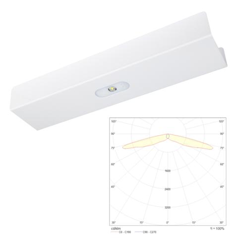 Аварийные линейные светодиодные светильники для трековой и модульной систем освещения TRAIL Line LOWBAY Teknoware