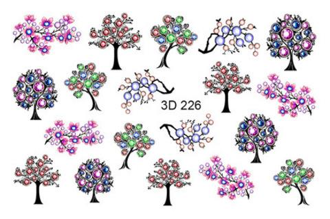 3D слайдер для ногтей, 3D - 226