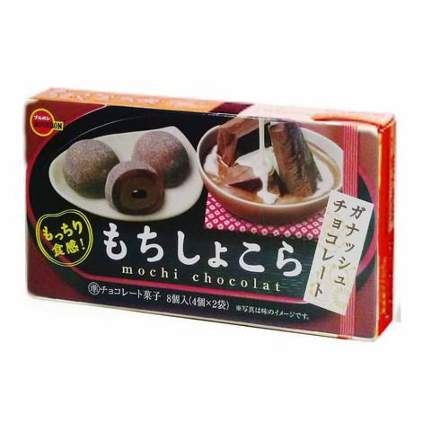Японские сладости моти с шоколадом