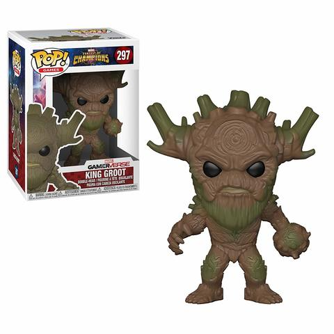 Фигурка Funko POP! Vinyl: Games: Marvel Contest of Champions: King Groot 26707