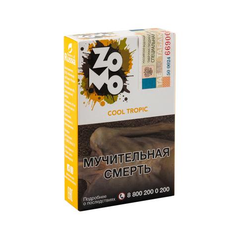 Табак ZOMO Cool Tropic (Маракуйя Гуава Киви Мята) 50 г