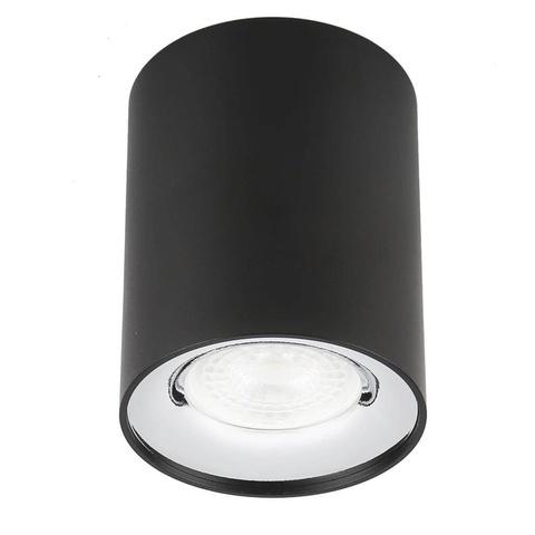 Светильник накладной Эра OL1 GU10 BK/CH