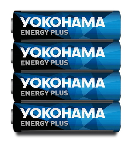 Батарейки Yokohama Energy Plus LR6, AA (4/40/200)
