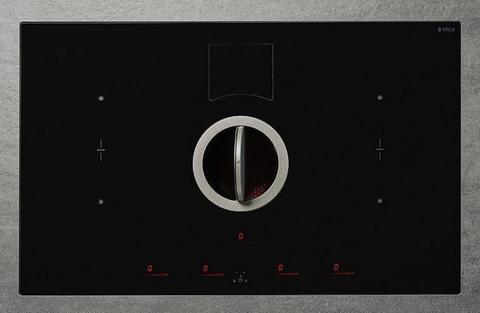Индукционная варочная панель со встроенной вытяжкой Elica NikolaTesla SWITCH BL/A/83