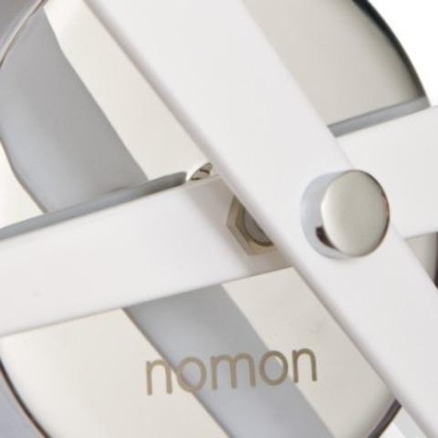 Настенные часы Rodon mini L белый лак