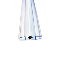 Уплотнитель магнитный, на стекло 4 мм, угол 180°, 2 метра (2 штуки) DC 801 купить не дорого