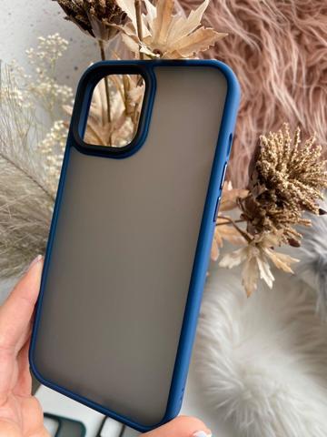 Чехол iPhone 12 /5,4''/ Rock Guard Series matte /blue/