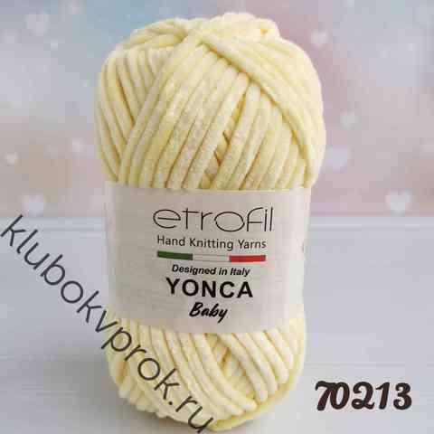 ETROFIL YONCA 70213, Нежный желтый