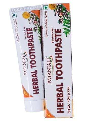 Аюрведическая зубная паста на травах ПАТАНДЖАЛИ, 100 г