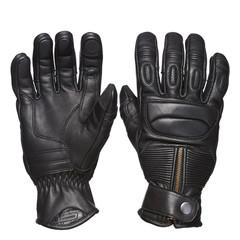 Мотоперчатки кожа Sweep Union, чёрный