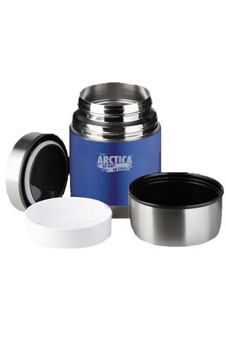 Термос для еды Арктика (1 литр) с супер-широким горлом, синий