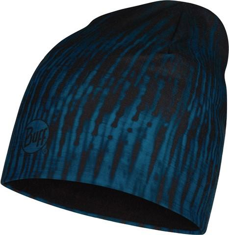 Тонкая флисовая шапочка Buff Hat Polar Microfiber Zoom Blue фото 1