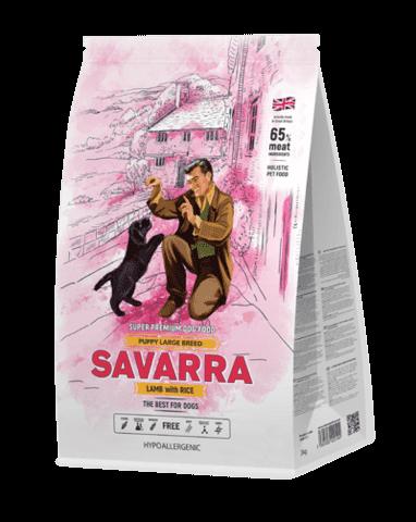 Купить Savarra Puppy Large Breed Lamb and Rice Сухой корм для щенков крупных пород от 1 месяца до 1 года с ягнёнком и рисом