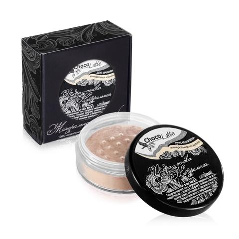 Для макияжа Пудра-Основа Тон №2 Натуральная, с матирующим эффектом, SPF 10, 10 мл/5гр  TM ChocoLatte