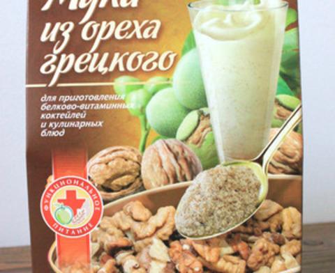Мука из грецкого ореха